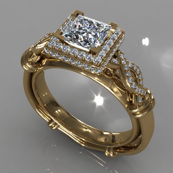 3DOcean Diamond Ring Creative 013 5392918