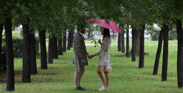 Passion Under Rain