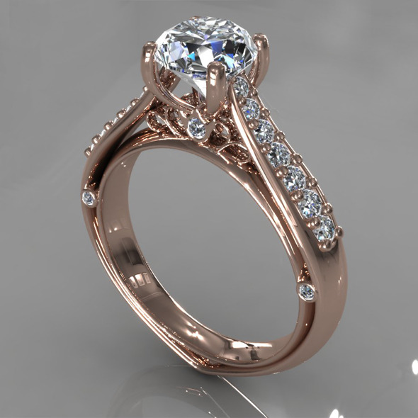 3DOcean Diamond Ring Creative 017 5393300