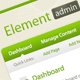 Element - Backend Admin Template - ThemeForest Item for Sale