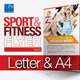 Fitness Flyer Vol.2 - GraphicRiver Item for Sale