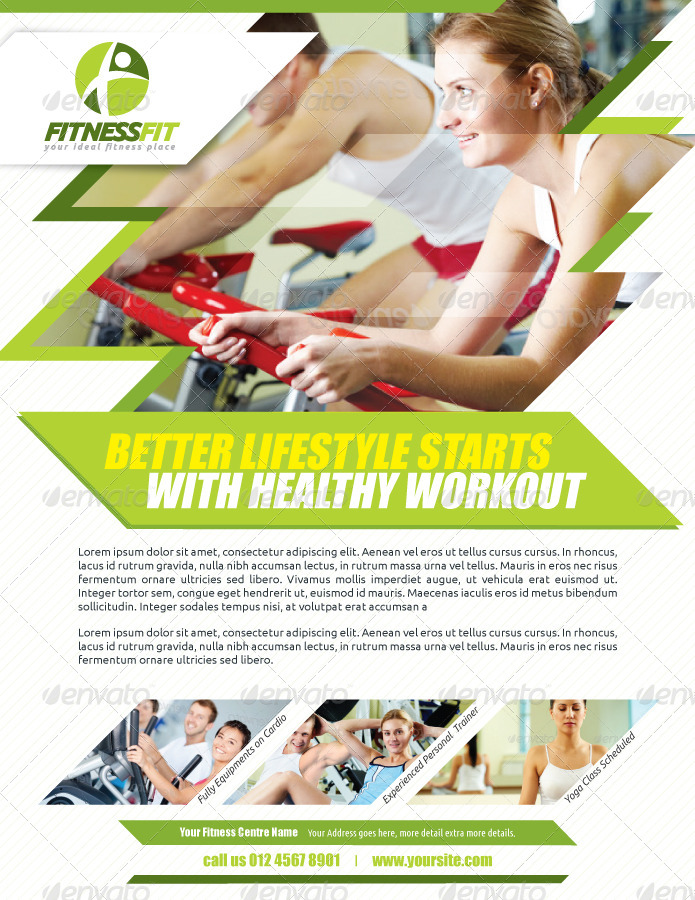 Fitness Flyer Vol2 by kitcreativestudio – Fitness Flyer