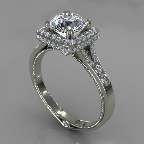 3DOcean Diamond Ring Creative 024 5393560