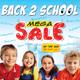 Back to School Mega Sale Flyer Template / Magazine - GraphicRiver Item for Sale