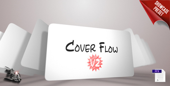 Cover Flow V2 showcase preset