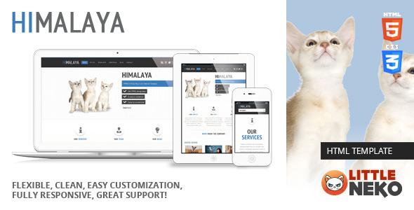 Himalaya | HTML5 Responsive Website Template
