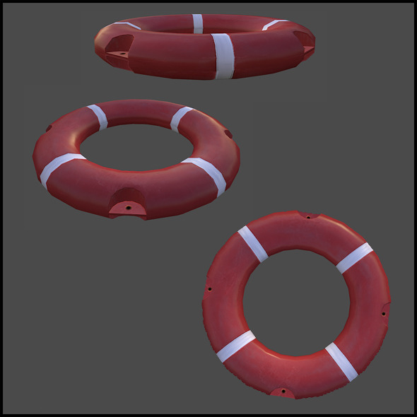 3DOcean Lifebuoy 5393787
