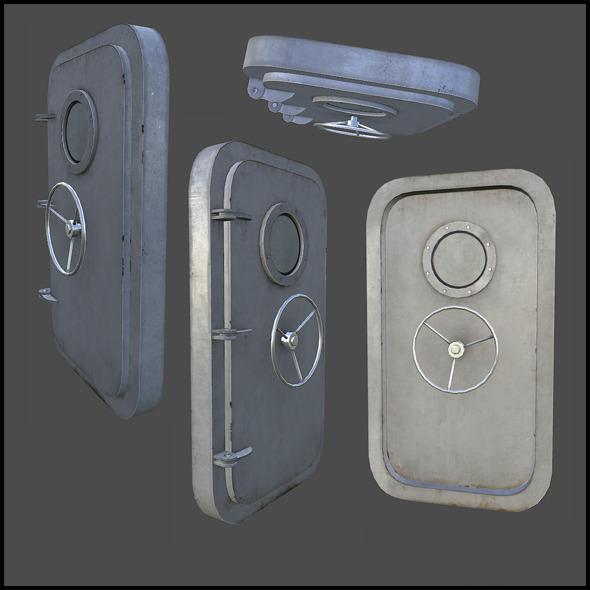 3DOcean Door Bulkhead 5393827