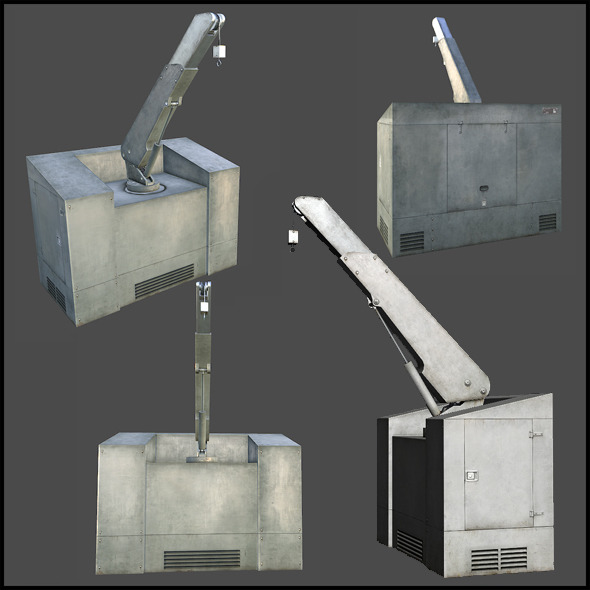 Container Crane - 3DOcean Item for Sale