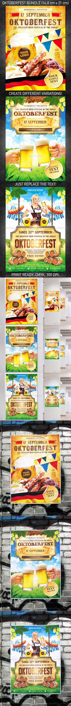 GraphicRiver Oktoberfest Festival Poster Bundle 5394430