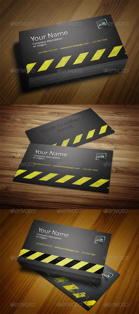 GraphicRiver Business Card 5394740