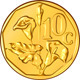 Vector money South African gold coin with aloe - GraphicRiver Item for Sale