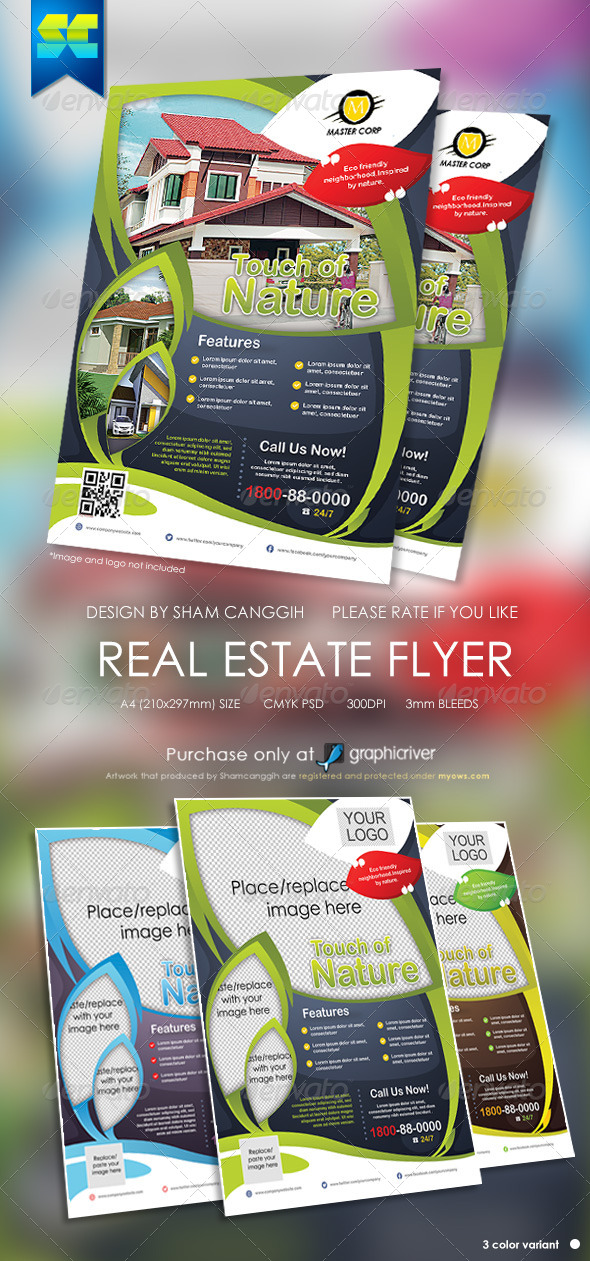 Real Estate Modern Flyers - Miscellaneous Events