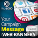 Social Media Marketing Web Banners - GraphicRiver Item for Sale