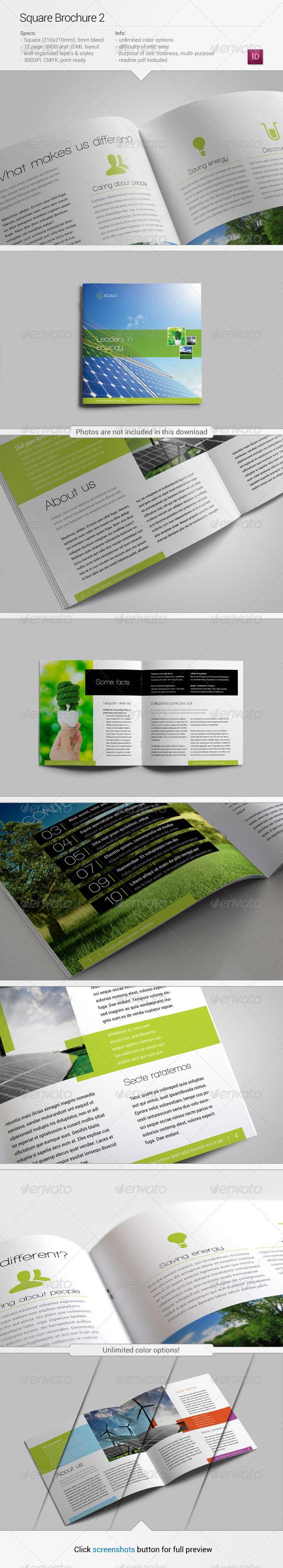 GraphicRiver Square Brochure 2 5395686