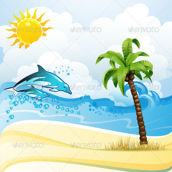 GraphicRiver Summer Beach 5395842