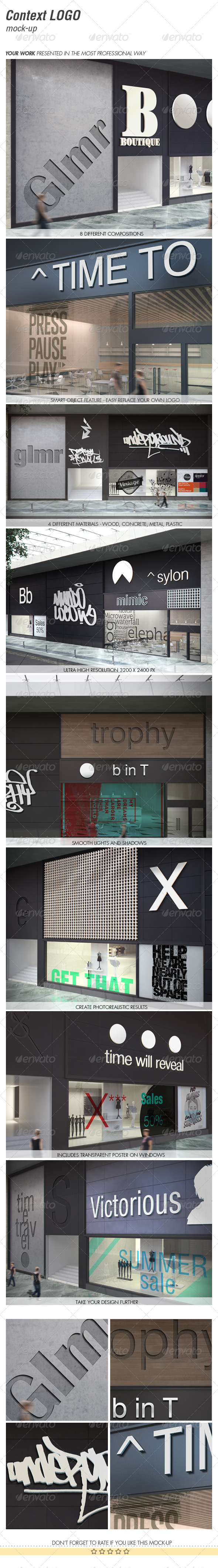 GraphicRiver CONTEXT LOGO mock-up 5396726