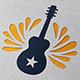Guitar Rock Logo Template