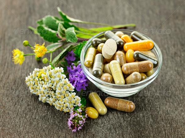 PhotoDune Herbal medicine and herbs 554540