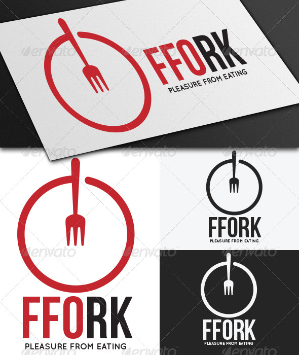 GraphicRiver Ffork Logo Template 5397176