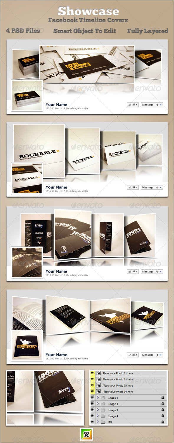 GraphicRiver Showcase Facebook Timeline Covers 5397795