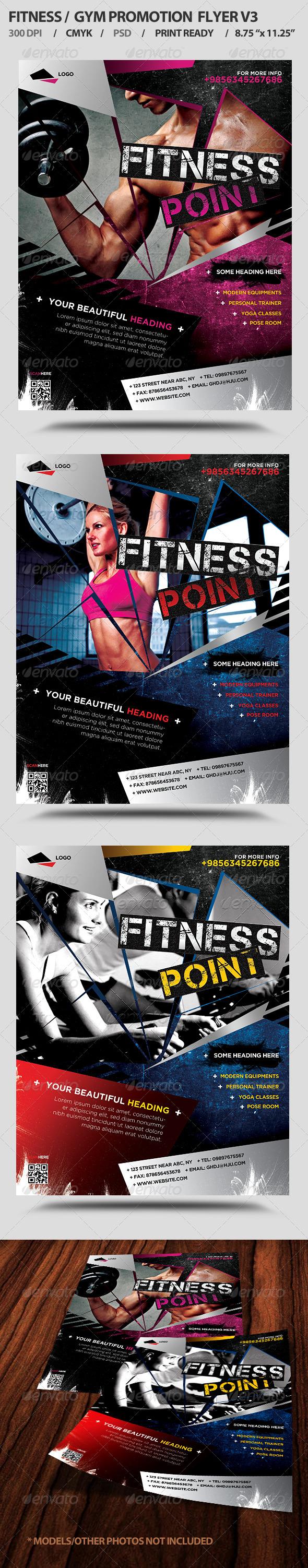 Fitness/Gym Business Promotion Flyer V3