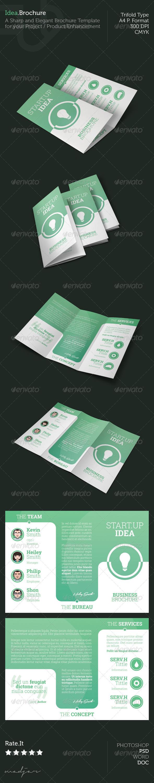 GraphicRiver Idea Trifold Brochure 5362599