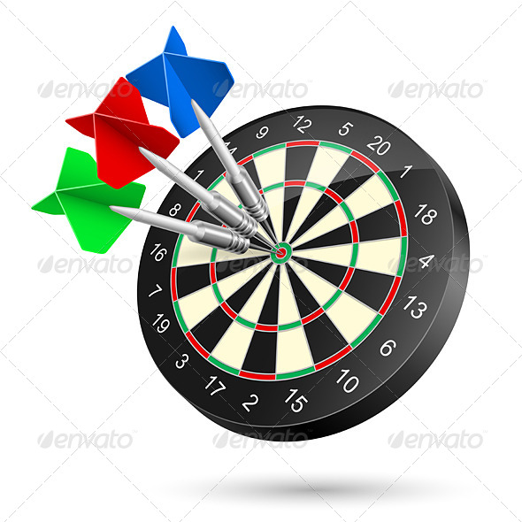 GraphicRiver Darts 5398093