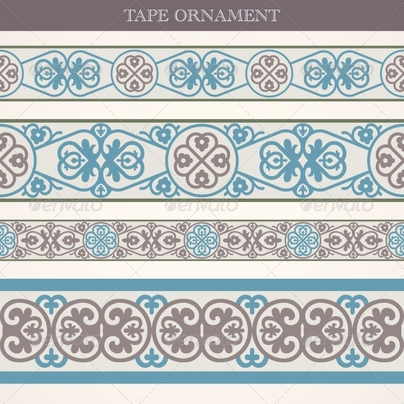 GraphicRiver Tape Ornament 5398158