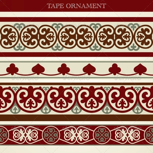 GraphicRiver Tape Ornament 5398160