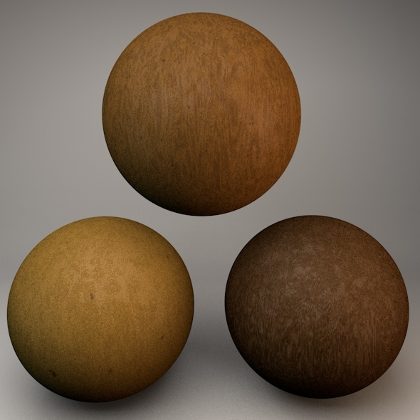 Natural Wood C4D Procedural - 3DOcean Item for Sale