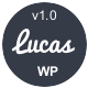 Lucas - Personal Minimalist WordPress Blog Theme