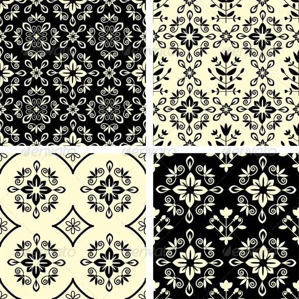 GraphicRiver Seamless Patterns 5398813