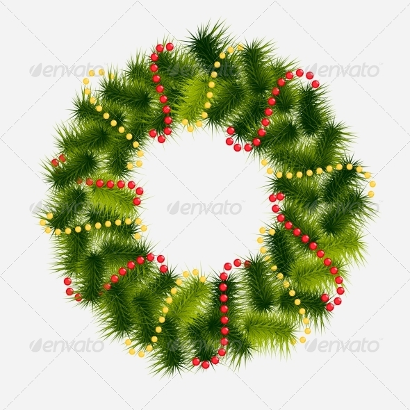 GraphicRiver Abstract Christmas and New Year background 5399054