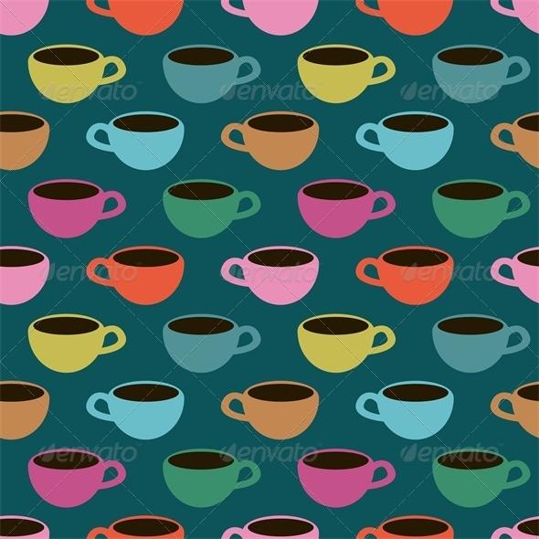 GraphicRiver Multicolored Cups 5399059