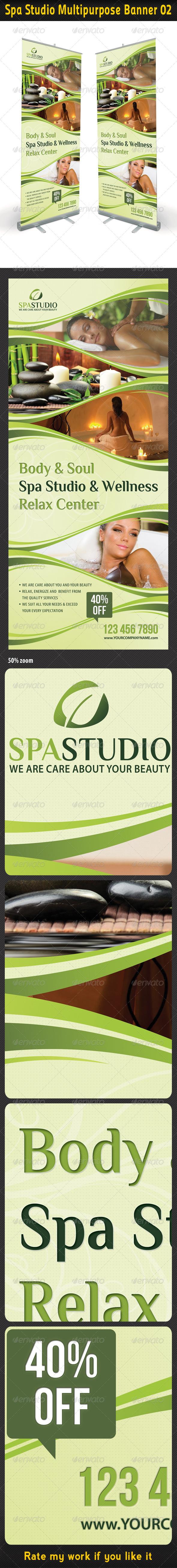 GraphicRiver Spa Studio Multipurpose Banner 02 5399118