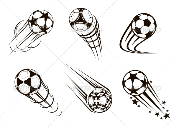 GraphicRiver Soccer and Football Emblems 5399168