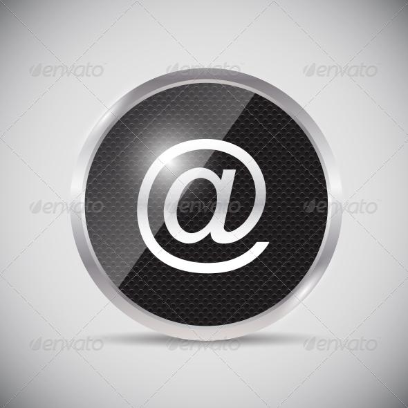 GraphicRiver Shine Glossy Computer Button 5399253