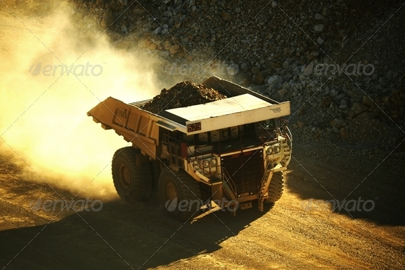 Stock Photo - PhotoDune Mining Truck 554888