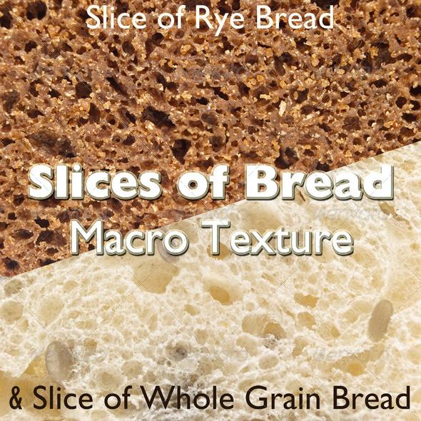 GraphicRiver Slices of Bread Macro Texture 5399658