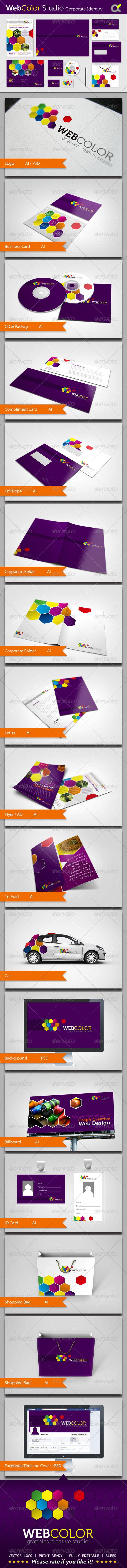 GraphicRiver WebColor Studio Corporate Identity 5361145