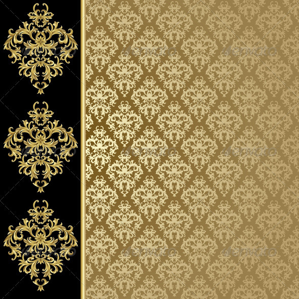 Golden background  - Backgrounds Decorative