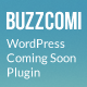 BuzzComi - Responsive WordPress Coming Soon Plugin