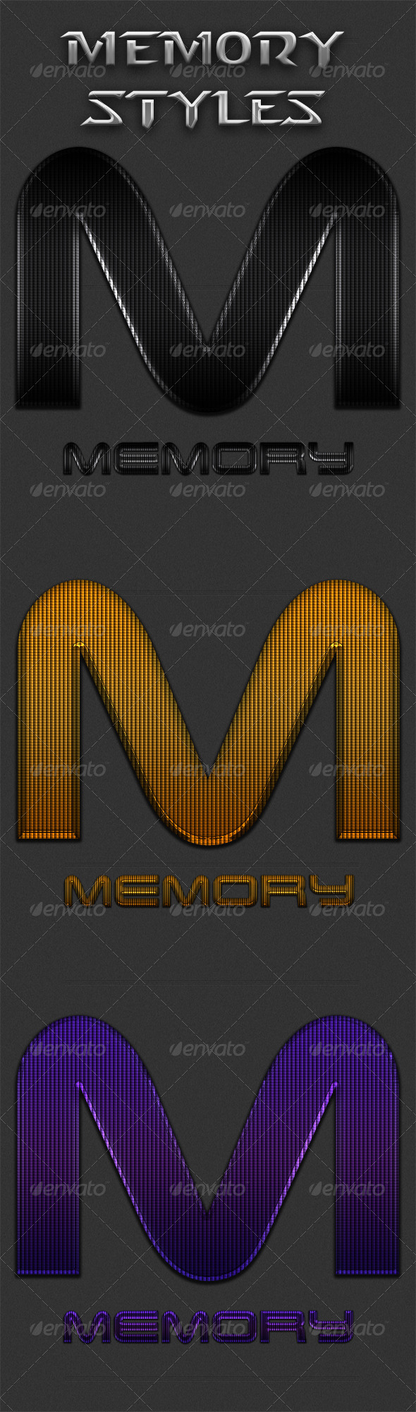 GraphicRiver 3 Memory Styles 5402173