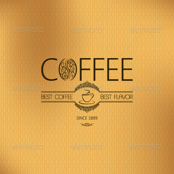 GraphicRiver Coffee Background 5402304