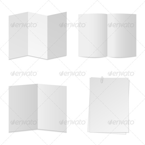 GraphicRiver Paper Vector Set 5402513