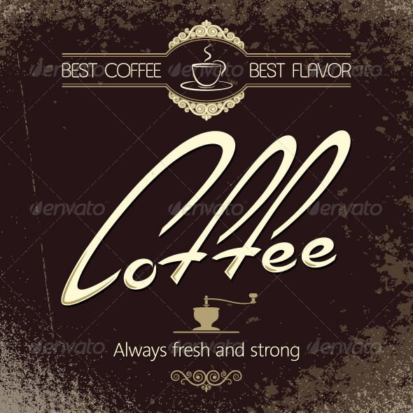 GraphicRiver Coffee Background 5402557