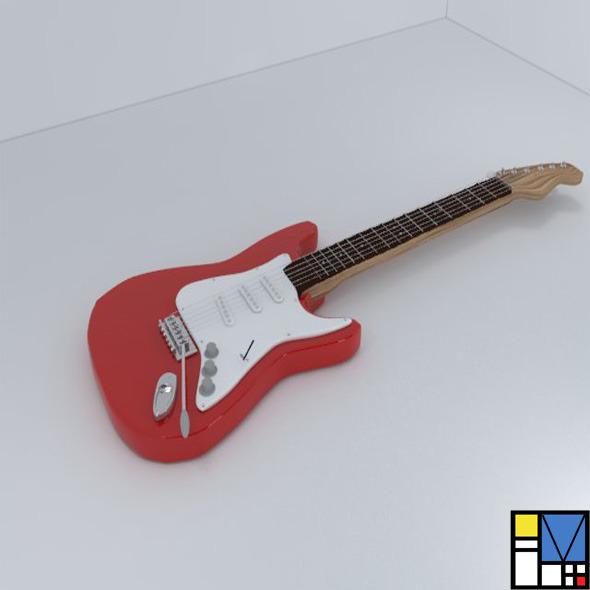 3DOcean Guitar 5367234