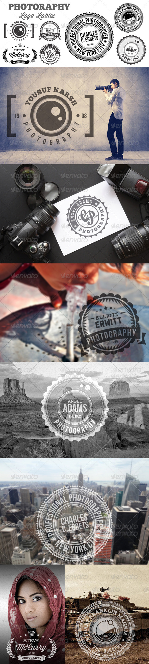 GraphicRiver Photography Logo Lable 5402702