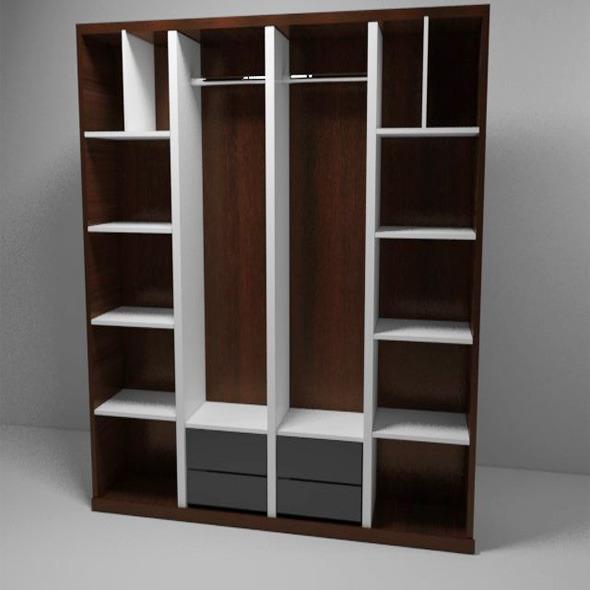 3DOcean Bedroom Closet 5402781